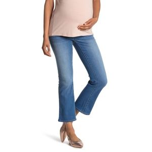 SEVEN7 Over The Belly Mid Rise Maternity Jeans